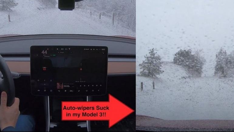 Tesla Model 3 i zimske radosti