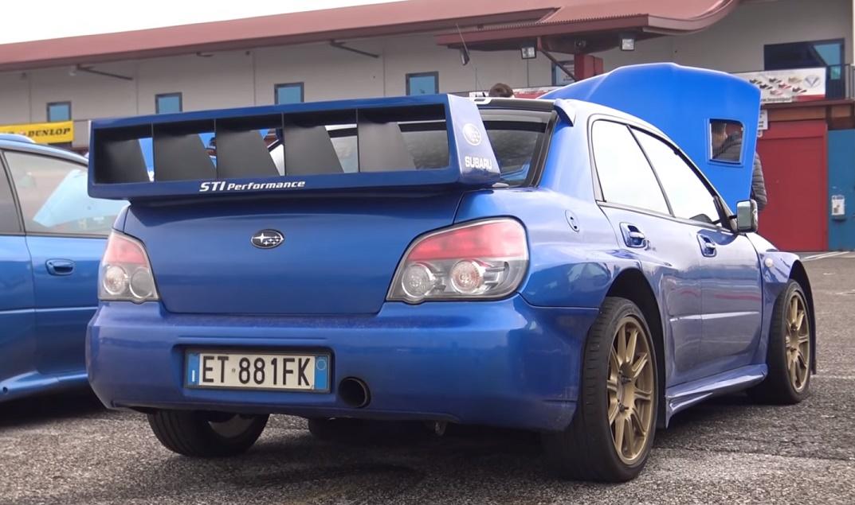 Ova Subaru Impreza WRX STI je prava relijaška replika