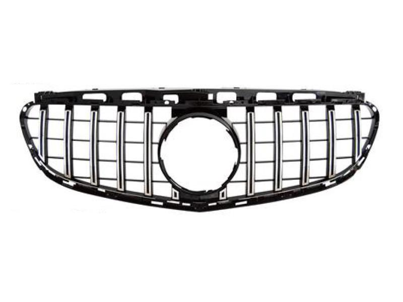 Хром/черна решетка тип gt-r за mercedes e класа w212 2014
