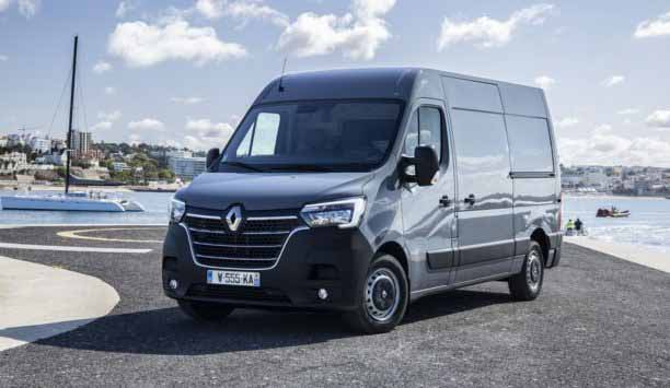 Renault Master. Фото Renault