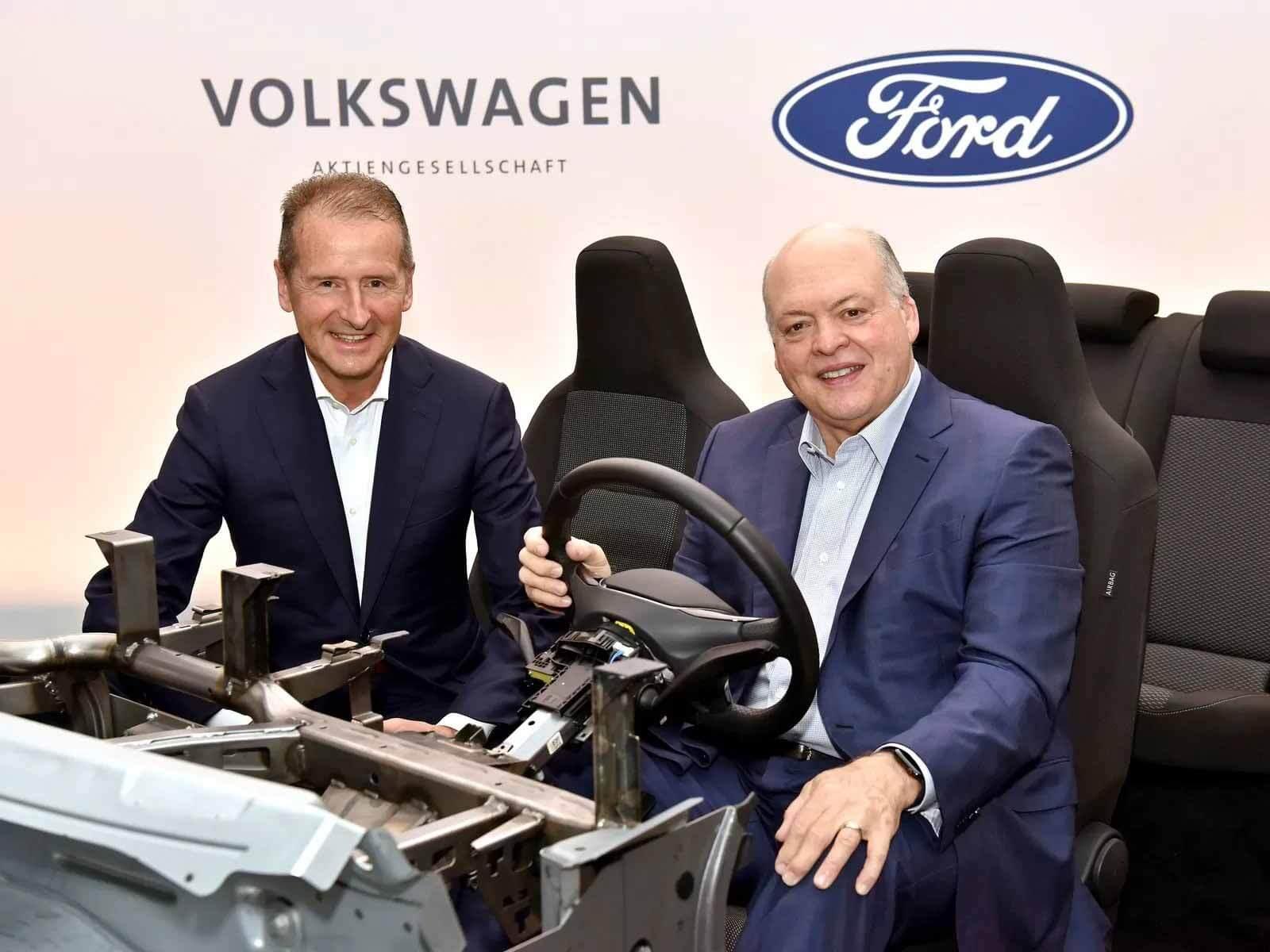 От слов к делу: альянс Ford и VW выдаст 8 миллионов коммерческих автомобилей