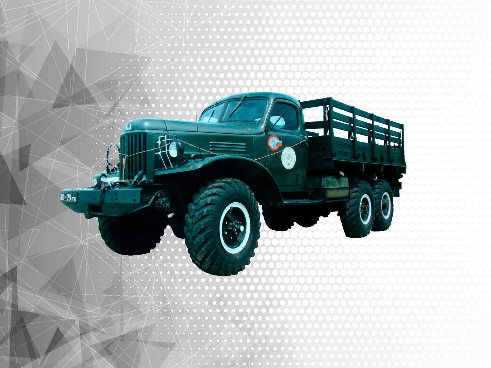 Военные модификации ЗИЛ-157 - Kolesa.ru - автомобильный журнал