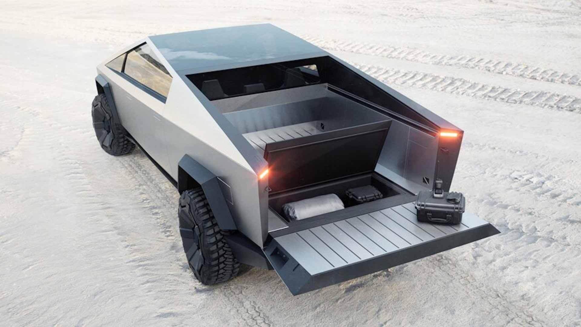 Элон Маск из Tesla рассматривает возможность настройки Cybertruck для увеличения грузового пространства