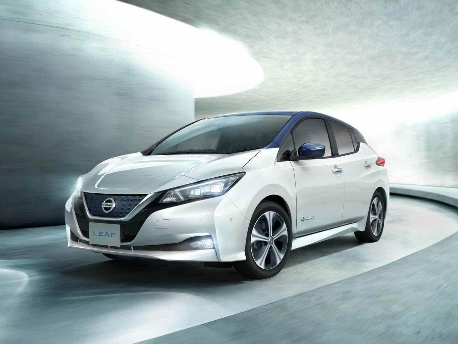 Тест-драйв БПЛА: Nissan отвез Leaf в автономном режиме на дорогах Великобритании
