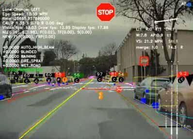 Патент Тесла представила автопилот эффективный метод, чтобы улучшить идентификацию объекта