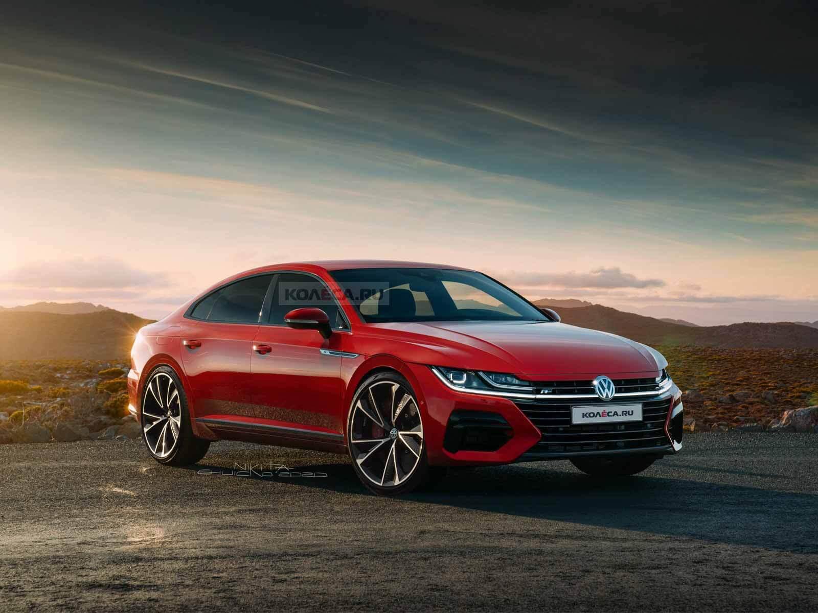 Рестайлинг Volkswagen Arteon 2021 - Kolesa.ru - автомобильный журнал