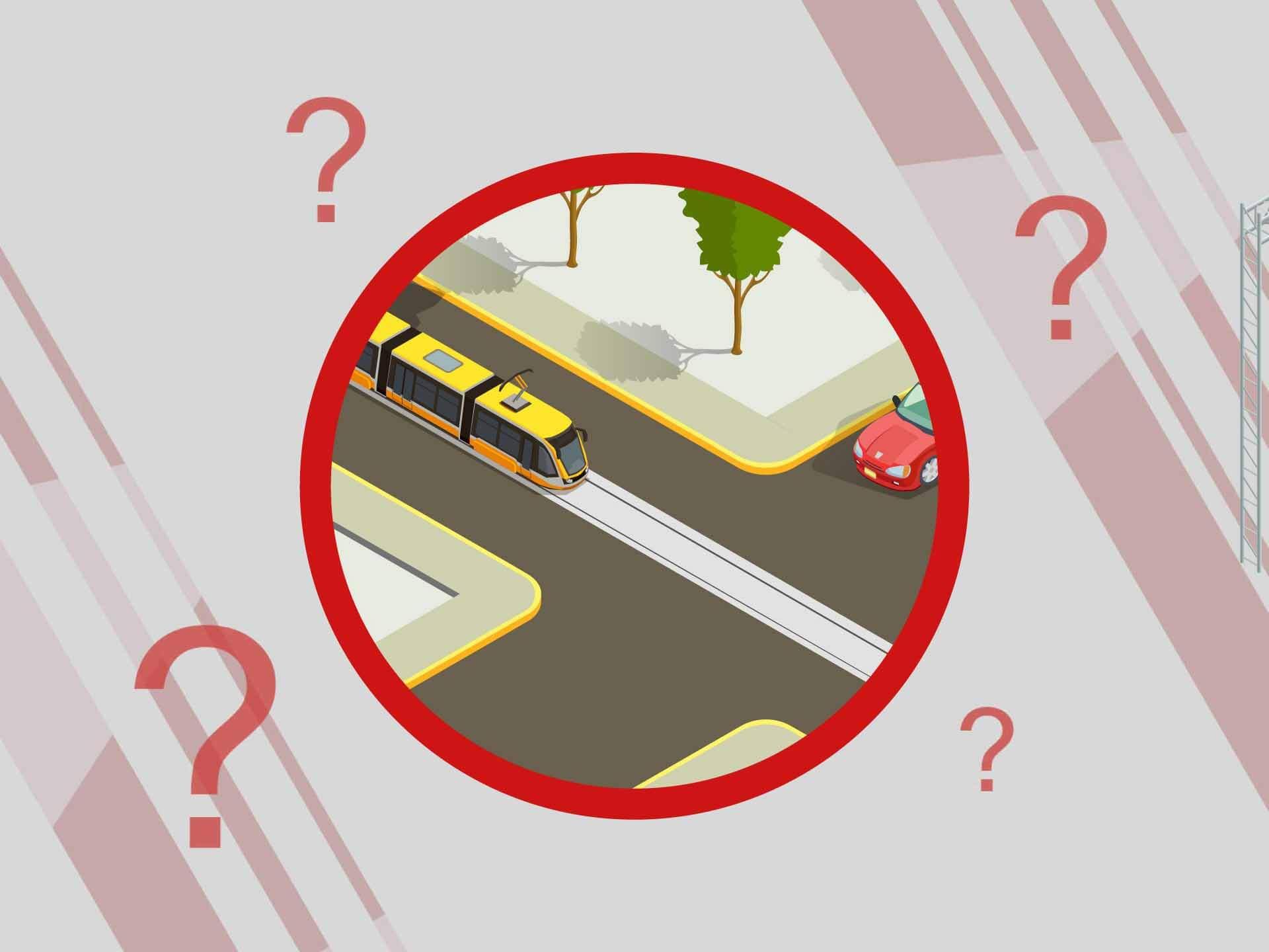 Взаимодействие авто с трамваем: анализируем все случаи