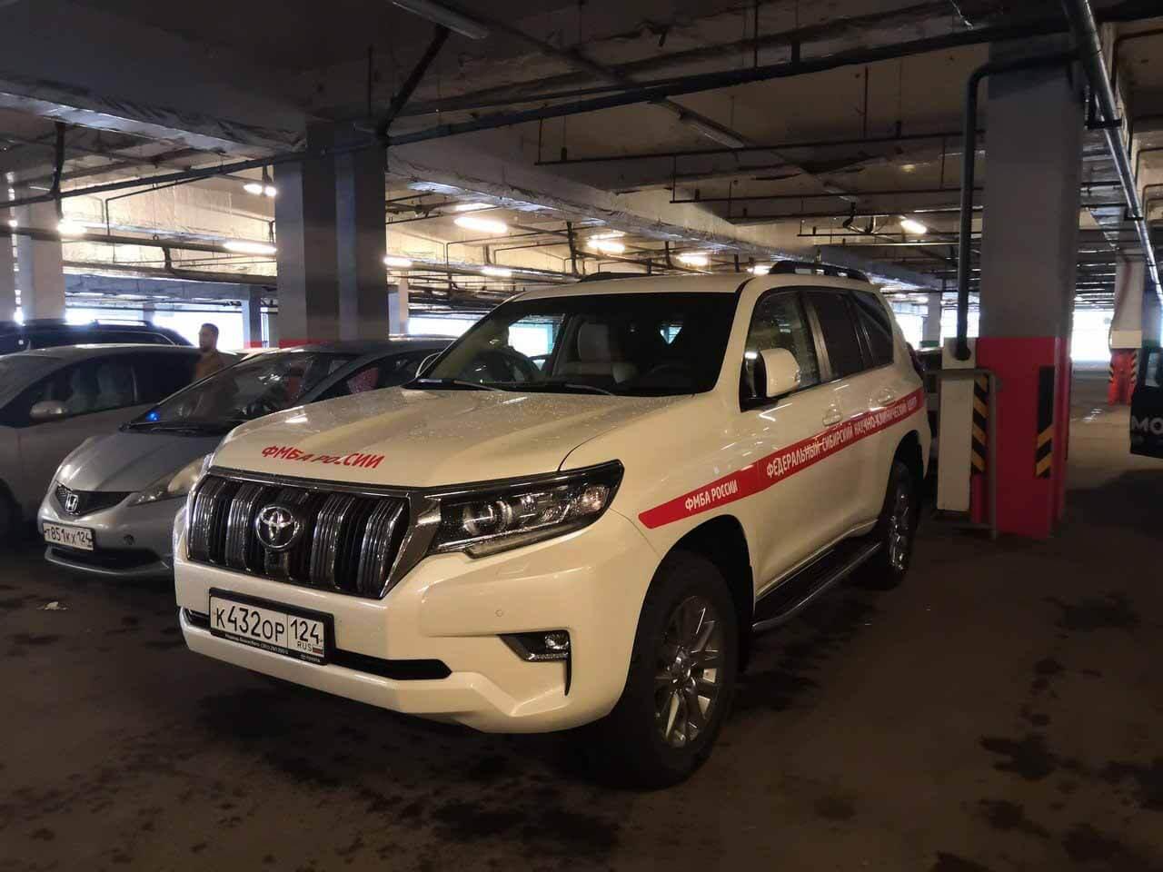 Сеть возмутила «правительство» Toyota Land Cruiser 200 в Красноярске