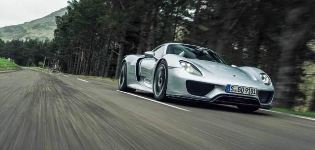 Гиперкар Porsche 918 Spyder