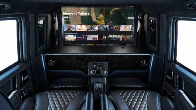 Бронированный лимузин Mercedes-AMG G63