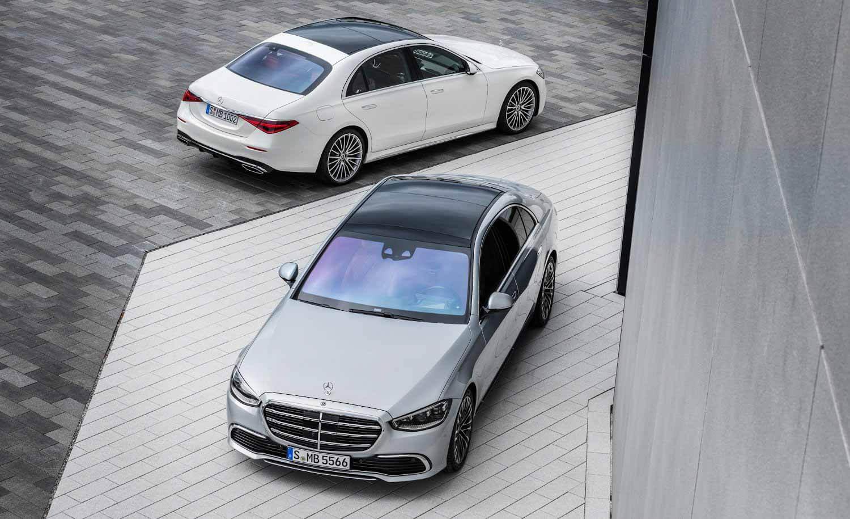 Mercedes-Benz показал миру новый S-класс - Двигатель