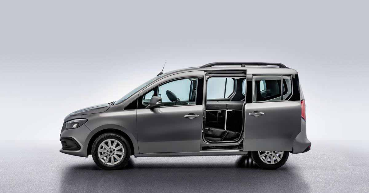 Новый Mercedes-Benz Citan превратился в миниатюрный дом на колесах - Motor
