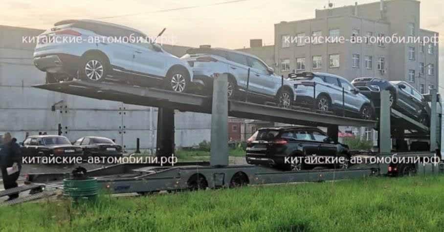 Geely Atlas Pro начали отгружать российским дилерам - Motor
