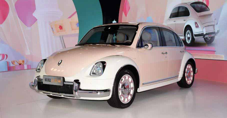 Great Wall представила «клон» Volkswagen Beetle