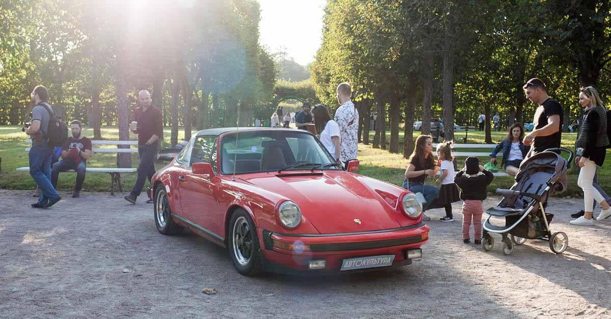 Самые редкие автомобили России на фестивале Автокультура