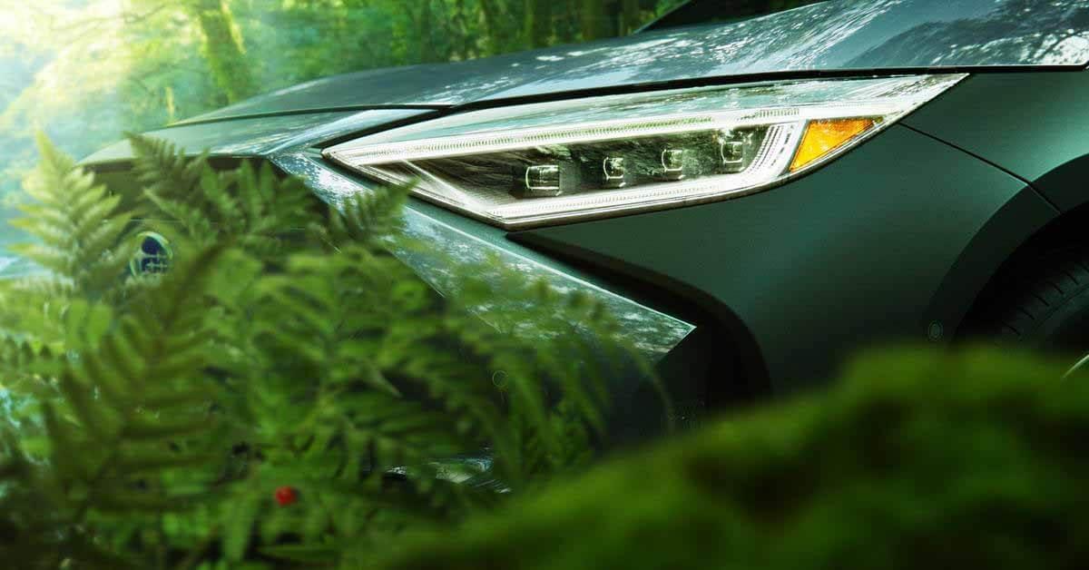 Subaru раскрыла дизайн электрического кроссовера Solterra - Motor