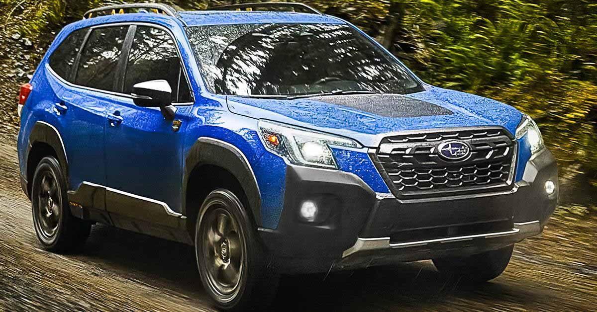 «Самый внедорожный» Subaru Forester показали перед официальной премьерой - Motor