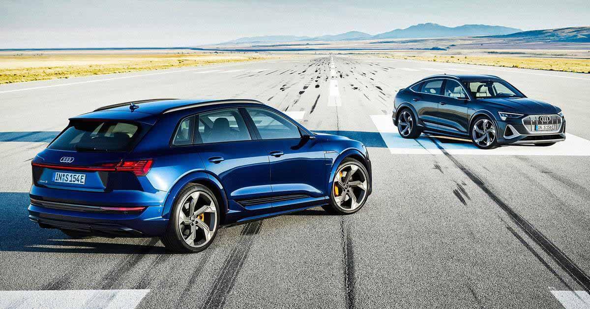 Audi назвала рублевые цены на «заряженные» электромобили e-tron S - Motor
