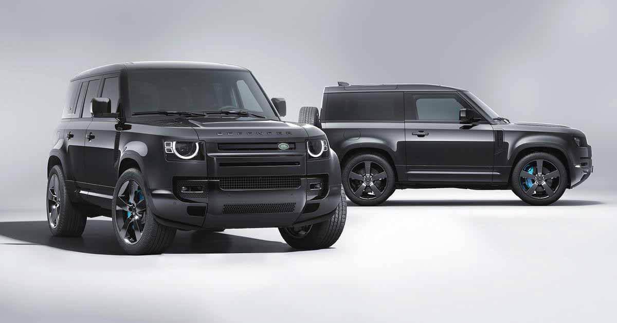 Land Rover посвятил новый специальный выпуск Defender фильму о Джеймсе Бонде - Motor