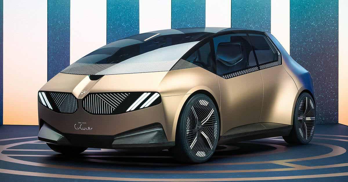 BMW показала электромобиль, полностью сделанный из переработанных материалов - Motor