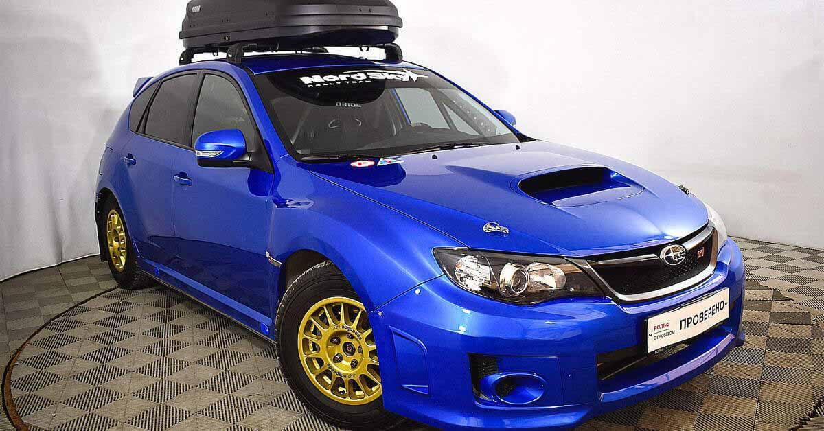 Subaru WRX STi Rally продан в Москве - Мотор