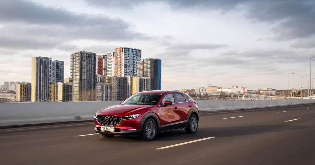 Mazda сокращает продажи CX-30 в России - Motor