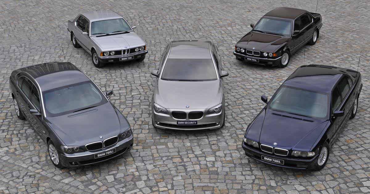 Следующая BMW 7-Series будет оснащена новым двигателем V8