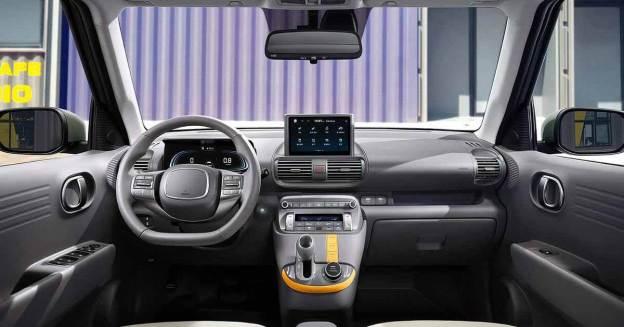Hyundai раскрыла интерьер миниатюрного кроссовера Casper