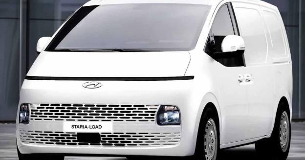 Грузовой фургон из футуристического минивэна Hyundai Staria - Motor