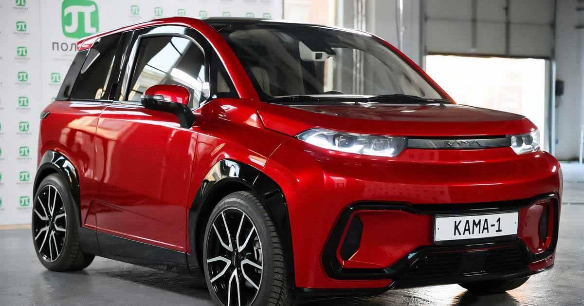 КамАЗ хочет построить завод по производству электрокроссоверов - Motor