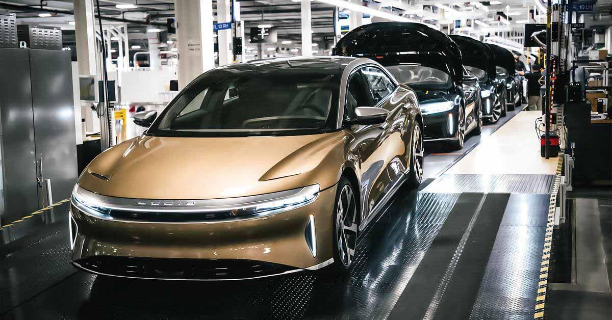 Lucid запускает сборку электромобиля с самой большой дальностью хода в мире - Motor