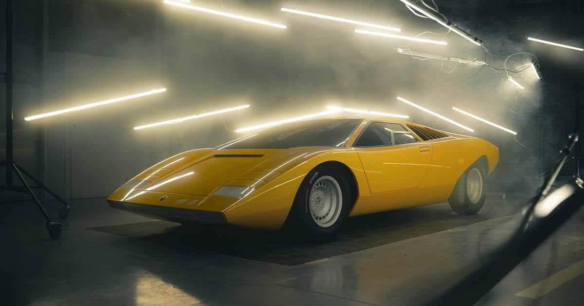 Lamborghini построила точную копию самого первого Countach - Motor