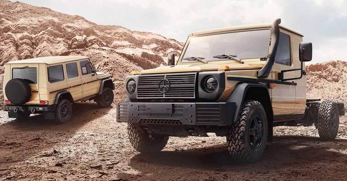 Mercedes-Benz выпустит новый G-класс для армии и полиции - Motor