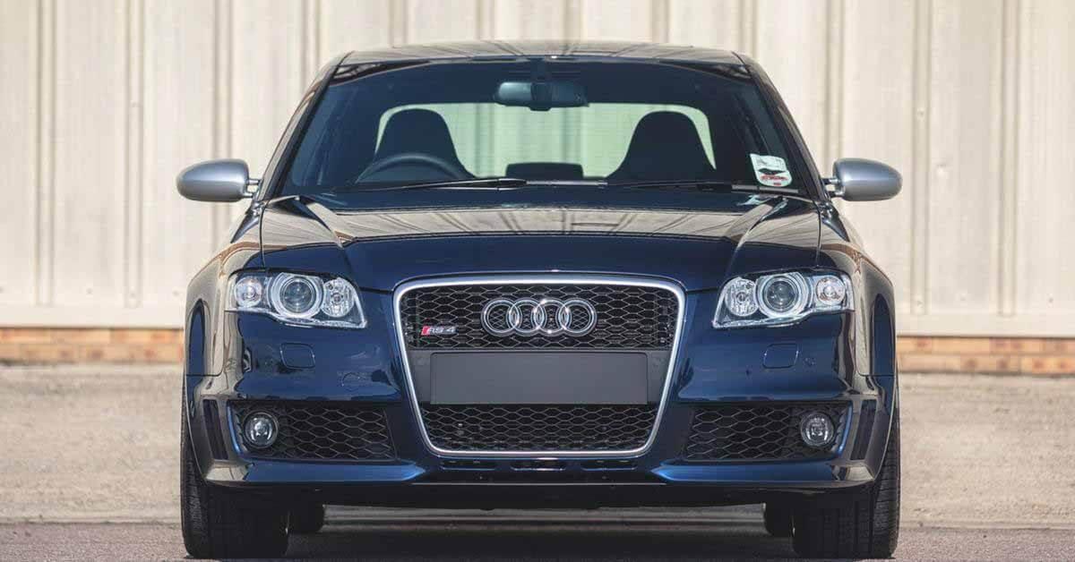 Новый Audi RS 4 2007 года выпуска выставят на аукцион - Motor