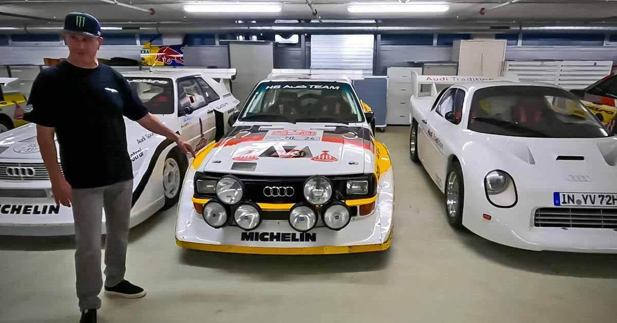Кен Блок был помещен в «секретный музей» Audi и позволил прокатиться на уникальном прототипе - Motor.