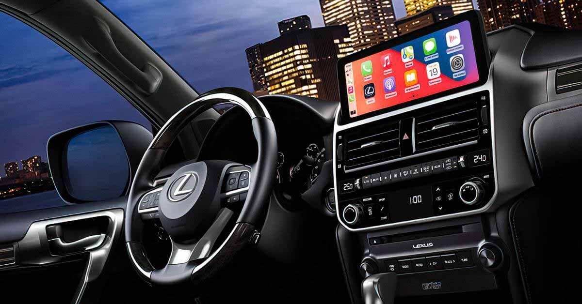 Lexus GX с новой мультимедийной системой поступит в продажу в России - Motor