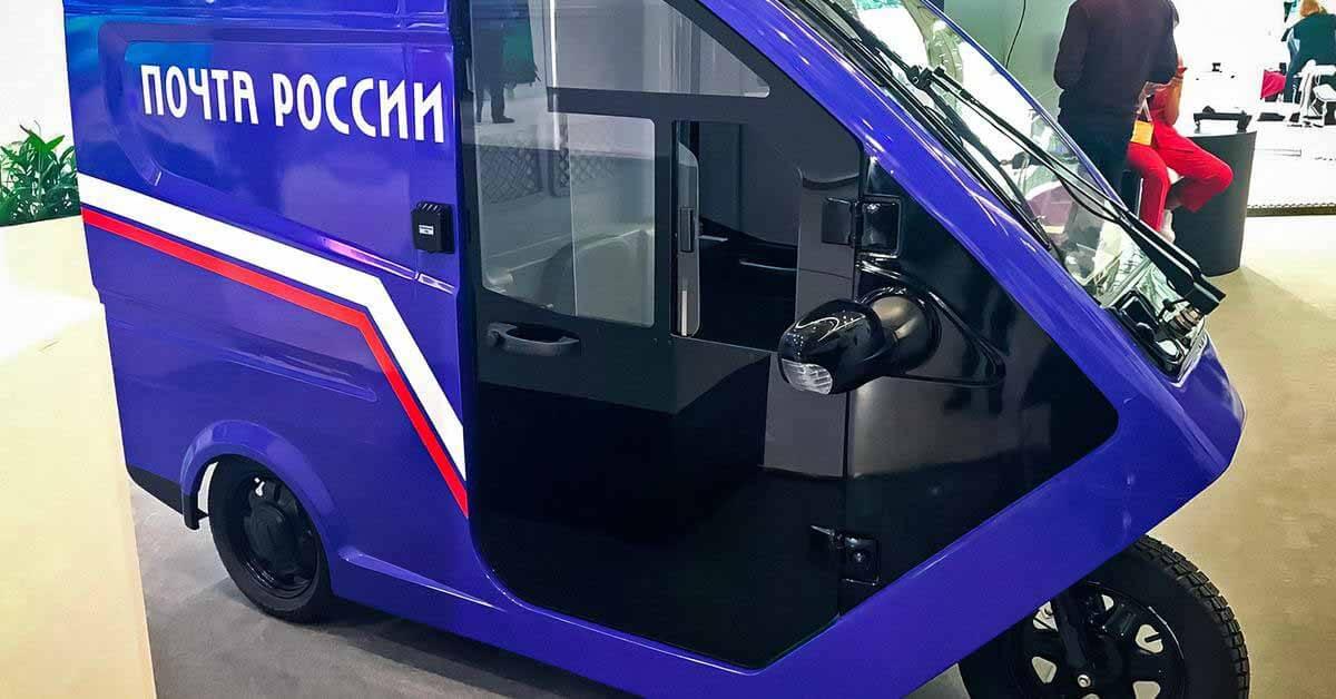 Посмотрите на российский электромобиль стоимостью 600000 рублей - Мотор