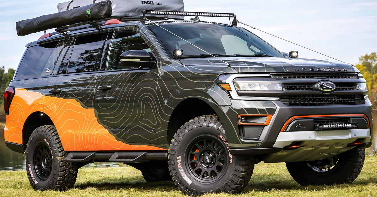 Ford представляет Expedition для экстремальных путешественников - Motor