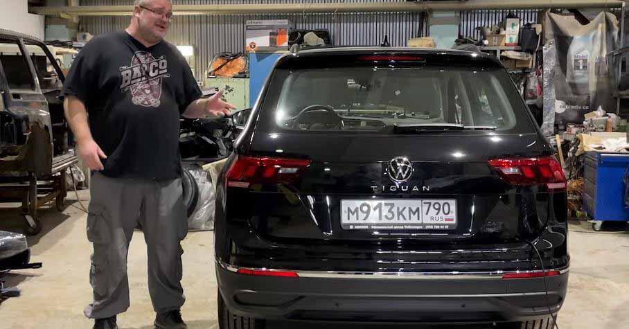 Блогер разобрал калужский VW Tiguan и назвал его плюсы и минусы - Motor