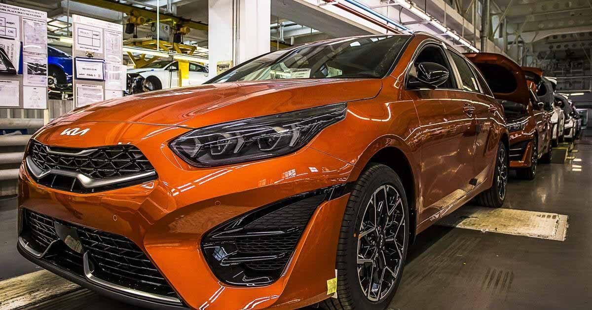 В России стартовала сборка обновленного Kia Ceed - Motor