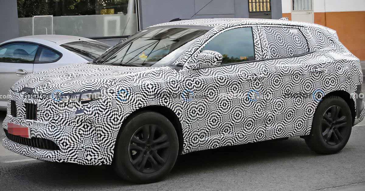 Renault Kadjar нового поколения сфотографировали во время тестов - Motor