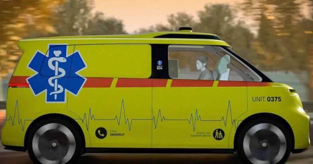 Volkswagen хочет превратить ID.Buzz в машину скорой помощи без водителя - Motor