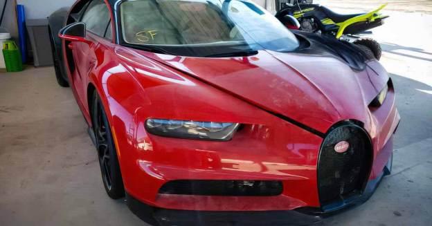 Сгоревший Bugatti Chiron продан за 25 млн рублей - Мотор