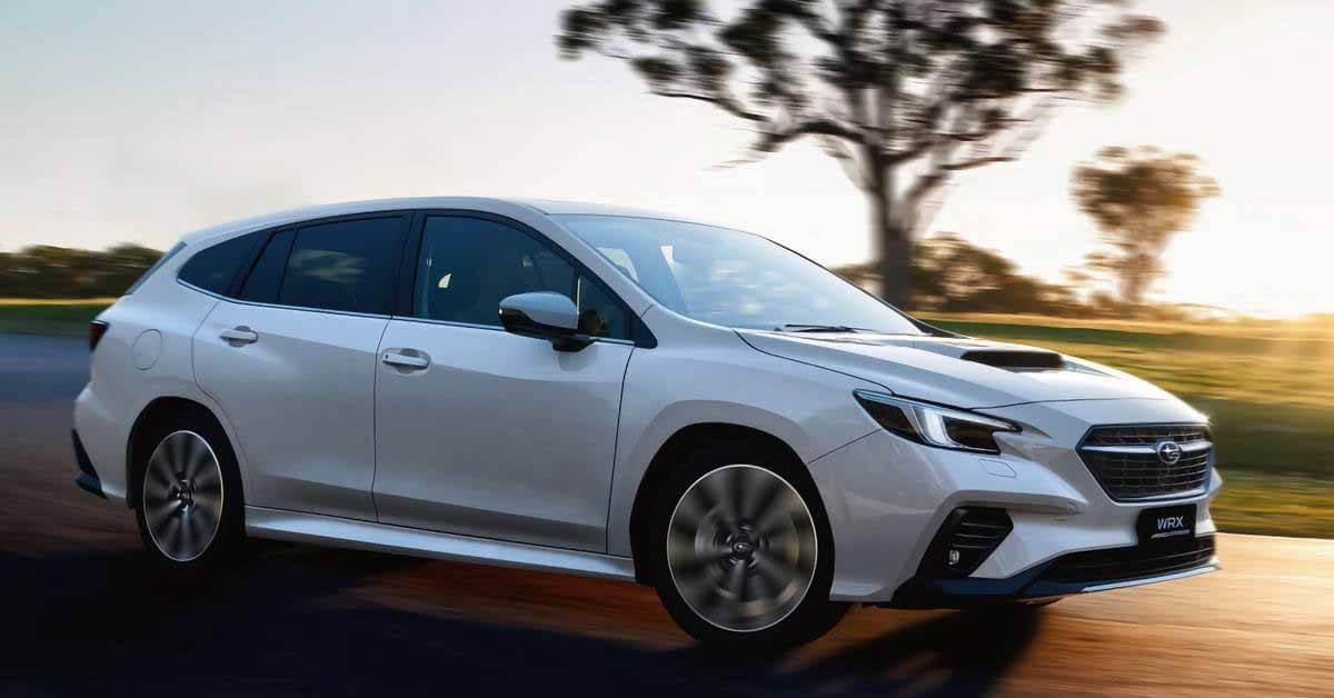 Новый Subaru WRX станет универсалом для Австралии - Motor