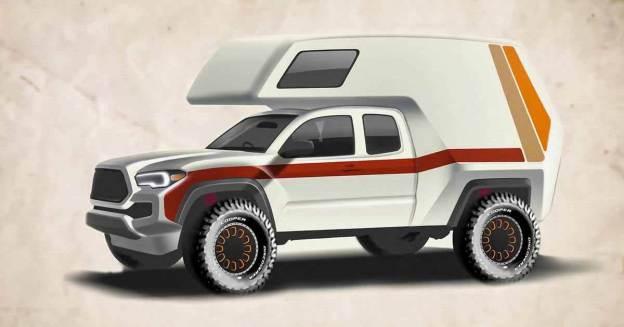 Toyota Tacoma TRD превратят в дом на колесах - Motor