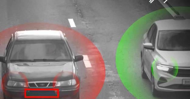 Первая камера, обнаруживающая выключенные фары, появилась в Москве