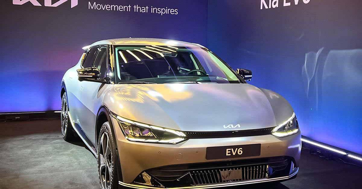Объявлены сроки появления электромобиля Kia EV6 в России - Motor