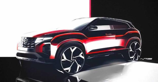 Hyundai готовит Creta с новым дизайном: первые изображения - Motor