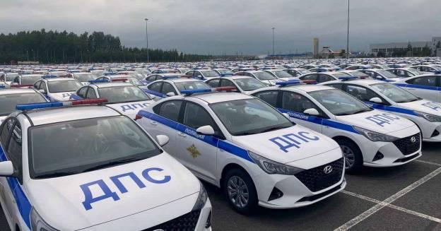 В автопарк ГИБДД России пополнилась огромная партия Hyundai Solaris - Motor