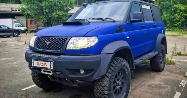 Экстремальный УАЗ «Патриот» с двигателем 2JZ продан в Москве за два миллиона рублей.